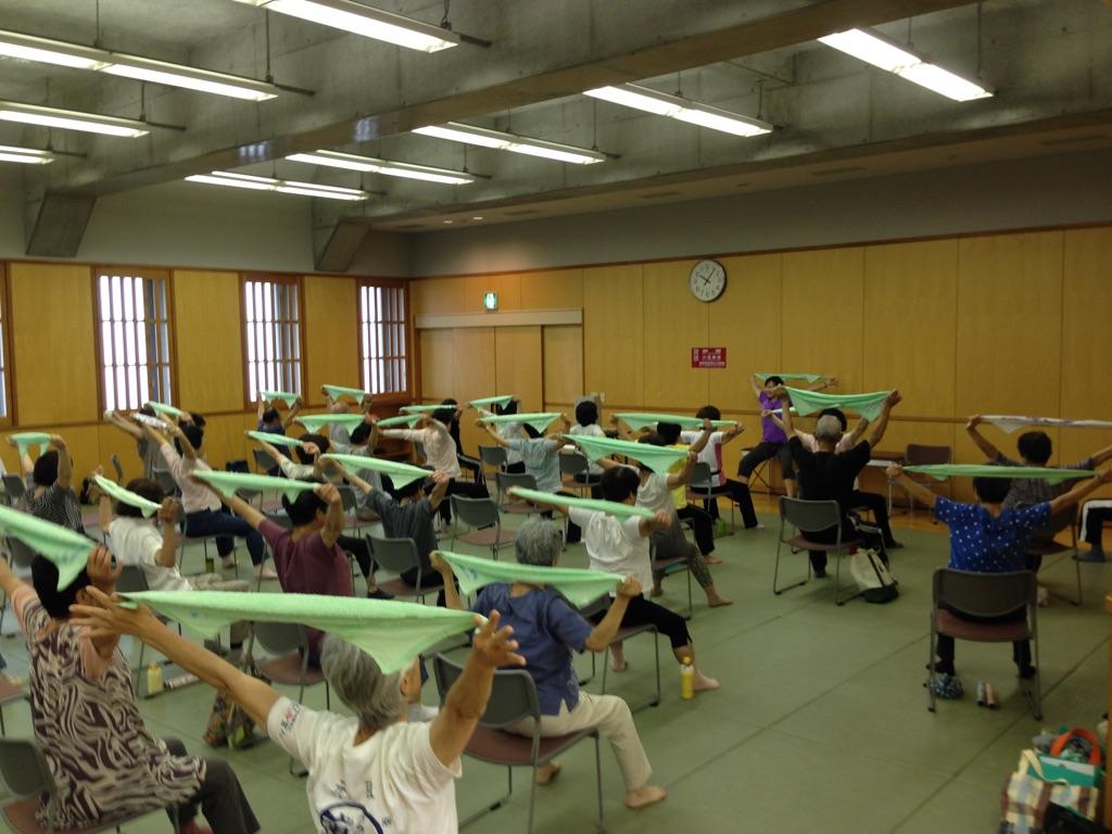 介護予防体操教室のイメージ